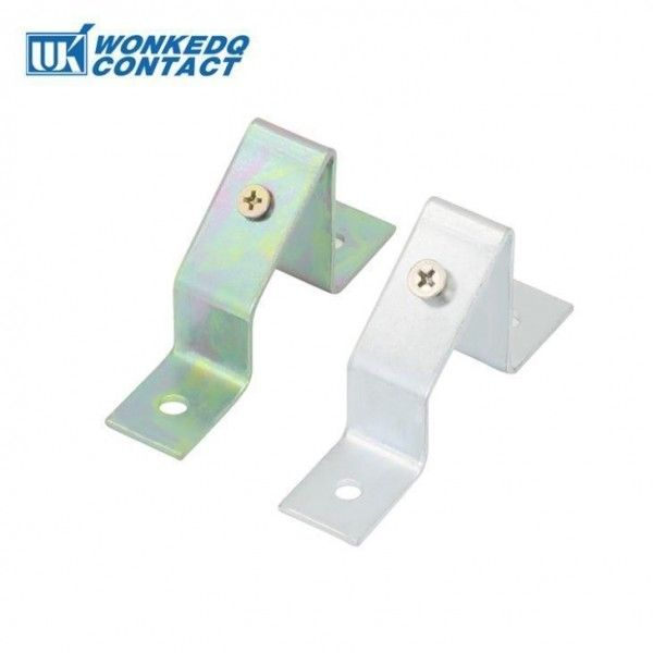 TSTW Din Rail 35mm Holder Bracket With CE Certification Plating Steel Customized