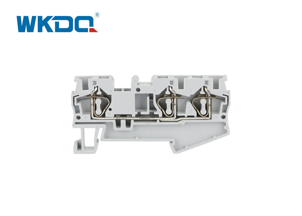 JST 4 TWIN Spring Terminal Block Connector Protect Against Shorts For Automation Assembly